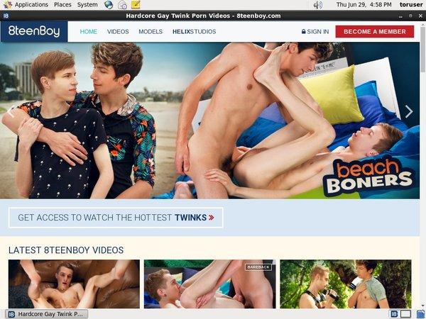 8 Teen Boy Buy Membership