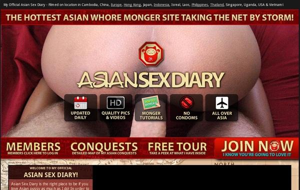 Asian Sex Diary Trial