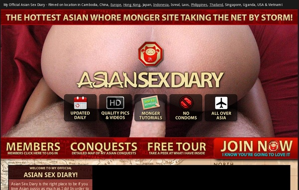Join Asiansexdiary.com With Paypal