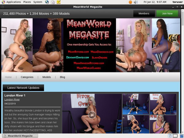 Meanworld.com With Gift Card
