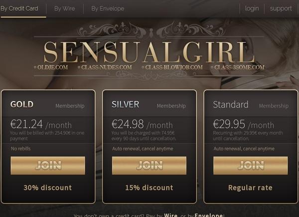Sensual Girl Make Account