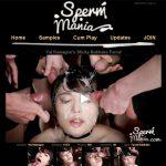 Sperm Mania Ebony