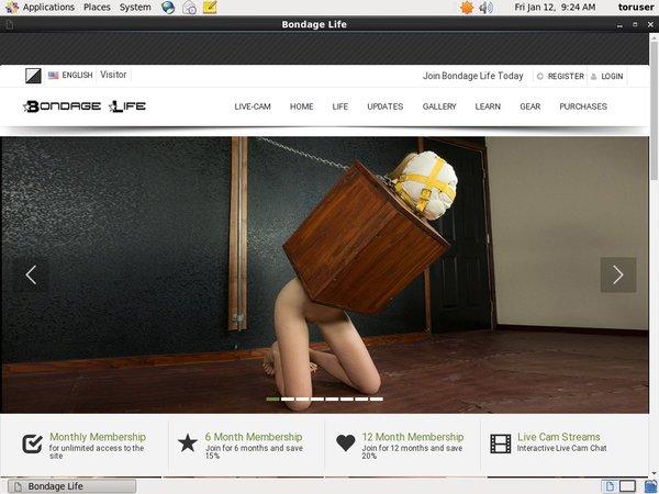 Bondagelife.com Free Sign Up