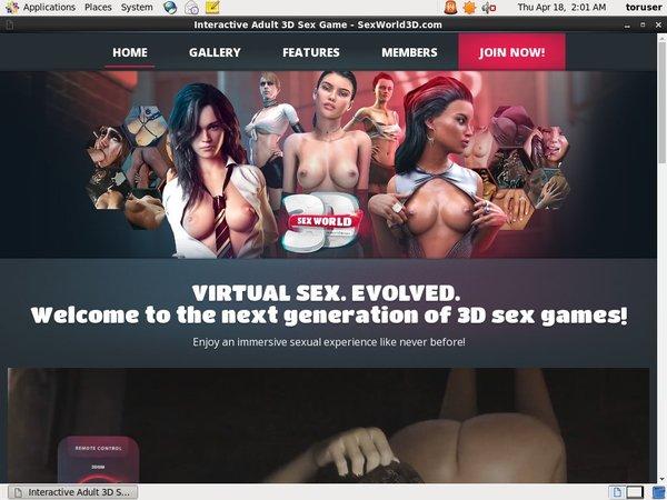 Sex World 3D Discounted Offer