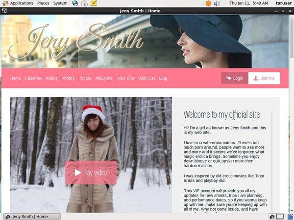 Jenysmith.net Trial Login