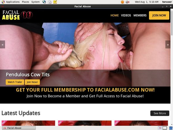 Facial Abuse Join With ClickandBuy