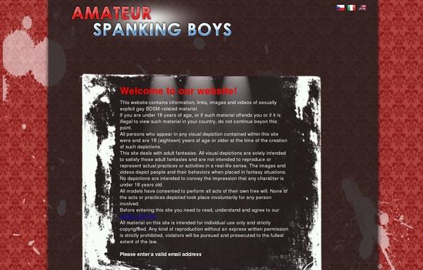 Daily Amateur Spanking Boys Accounts