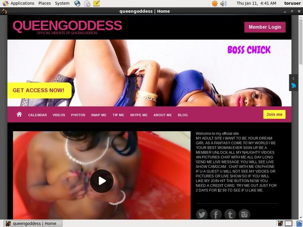 Beautyqueengoddess.com Home Page