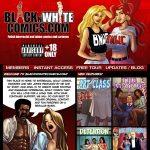 Black N White Comics Pic