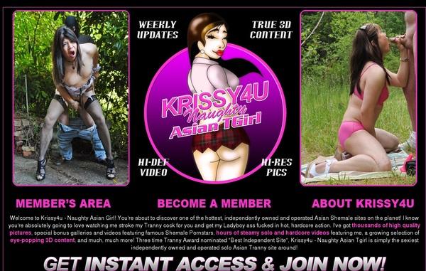 Krissy 4 U Promo Link Code