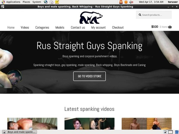 Premium Rus Straight Guys Spanking Account Free